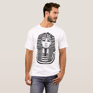 TUTANKHAMUN PHARAOH ANCIENT EGYPT 666 MASONIC ILLU T-Shirt