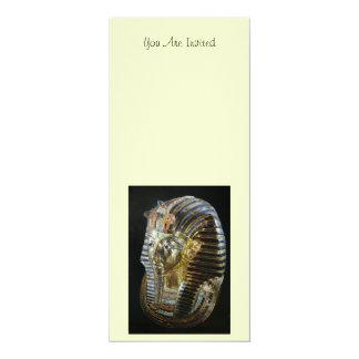 Tutankhamun's Golden Mask Card
