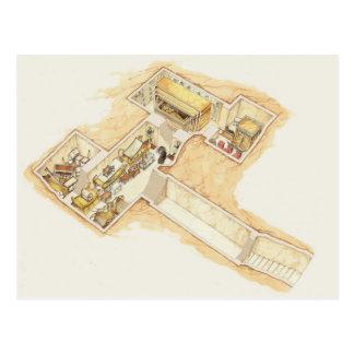 Tutankhamun's Tomb Postcard