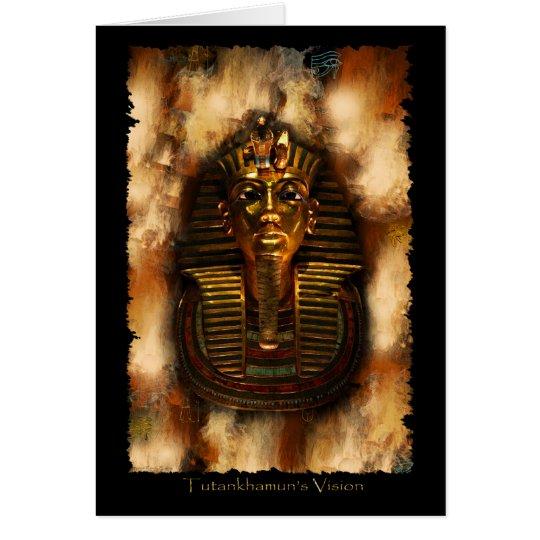 TUTANKHAMUN'S VISION Card