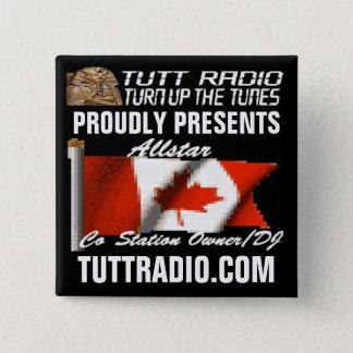 Tutt Radio Allstar's Button