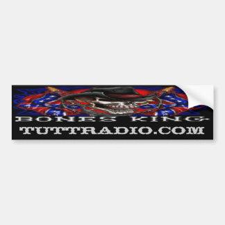 Tutt Radio Bones King's Bumper Sticker