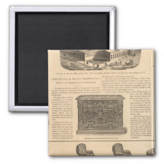 Tuttle and Bailey Manufacturing Company Square Magnet