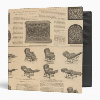 Tuttle and Bailey Manufacturing Company Vinyl Binders
