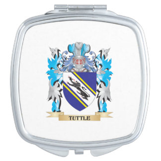 Tuttle Coat of Arms - Family Crest Vanity Mirror
