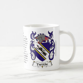 Tuttle Family Coat of Arms Mug