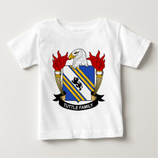 Tuttle Family Crest Baby T-Shirt