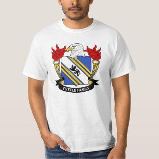 Tuttle Family Crest T Shirt