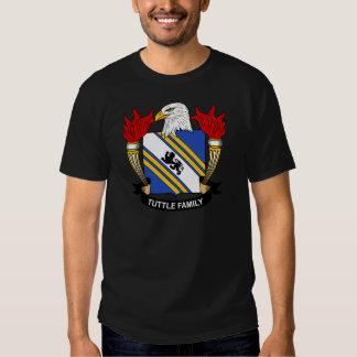 Tuttle Family Crest T-shirt