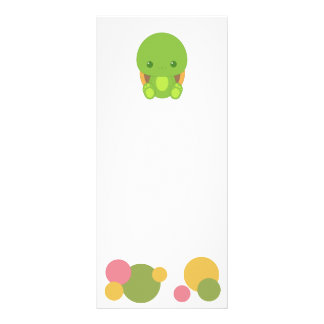 Tuttle the Turtle Book Mark Rack Cards
