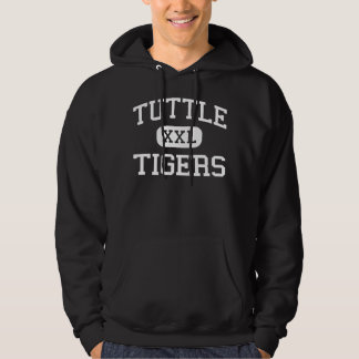 Tuttle - Tigers - High School - Tuttle Oklahoma Hooded Sweatshirt