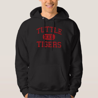 Tuttle - Tigers - Middle School - Tuttle Oklahoma Hoodie