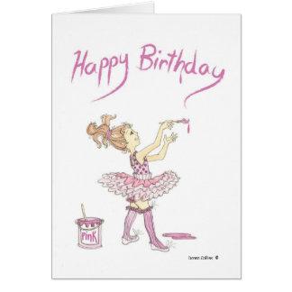 Tutu Birthday Card