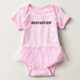 Tutu Cute! Deplorably adorable tutu bodysuit! Baby Bodysuit