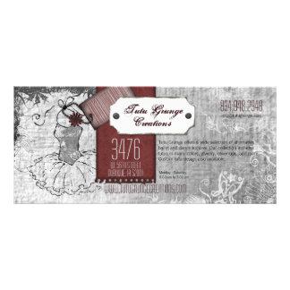 Tutu Grunge Landscape Rack Cards