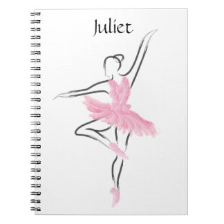 Tutu Love Notebook Juliet