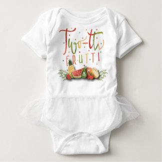TUTU ONSIE OUTFIT | Two-tti Frutti Birthday Party Baby Bodysuit