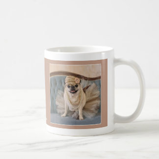 Tutu Pug Mug by Pugs and Kisses