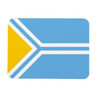 Tuva ethnic flag tuvinians siberia magnet