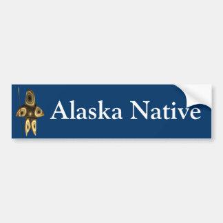 Tuvaaq - Alaska Native Bumper Sticker