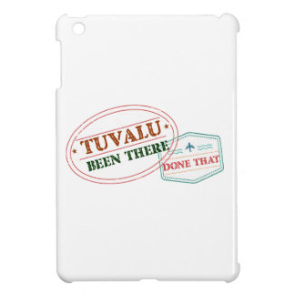 Tuvalu Been There Done That iPad Mini Cover