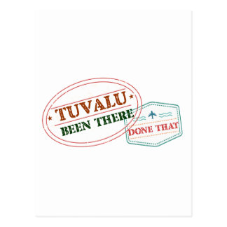Tuvalu Been There Done That Postcard