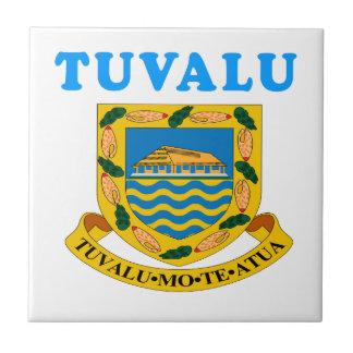 Tuvalu Coat Of Arms Designs Ceramic Tile