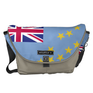 Tuvalu Flag Commuter Bags