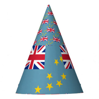 Tuvalu Flag Party Hat