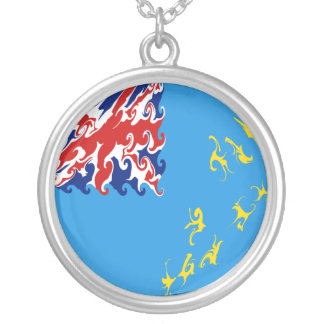 Tuvalu Gnarly Flag Necklaces