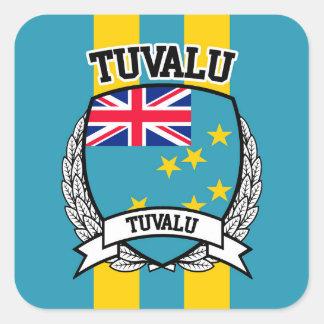 Tuvalu Square Sticker