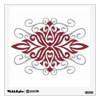 Tuwa Tribal Diamond Wall Sticker