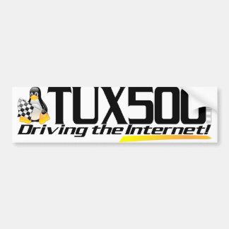 Tux500 bumper sticker