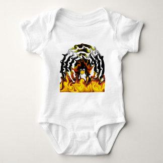 TUX Fire Target Baby Bodysuit