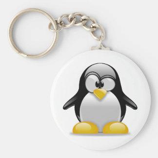 Tux Keychain