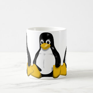 Tux Repeating Pattern Coffee Mug