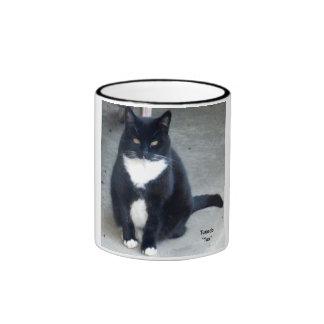 Tuxedo 11oz Cup Ringer Mug
