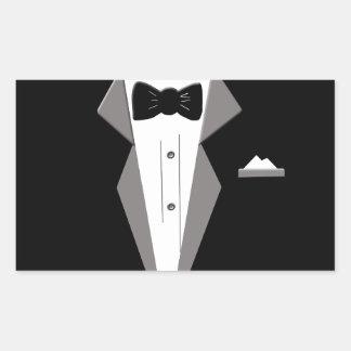 Tuxedo Art Sticker