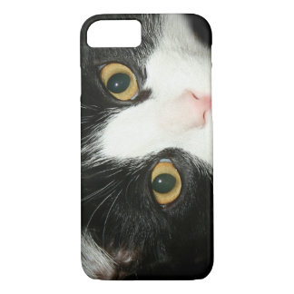 Tuxedo cat face iPhone 8/7 case