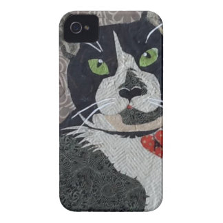 Tuxedo Cat iPhone 4 Case