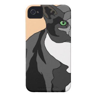 Tuxedo Cat iPhone 4 Covers
