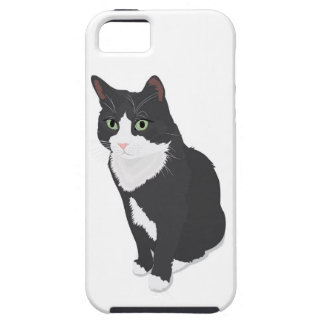 Tuxedo Cat iPhone 5 Cases
