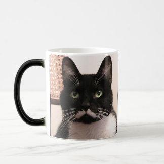 Tuxedo Cat Magic Mug