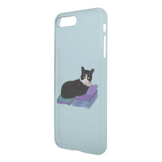Tuxedo Cat Nap iPhone 7 Plus Case