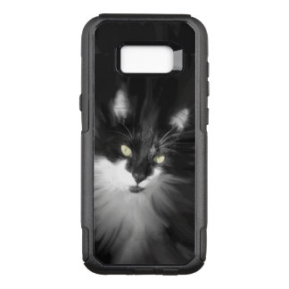 Tuxedo Cat OtterBox Commuter Samsung Galaxy S8+ Case