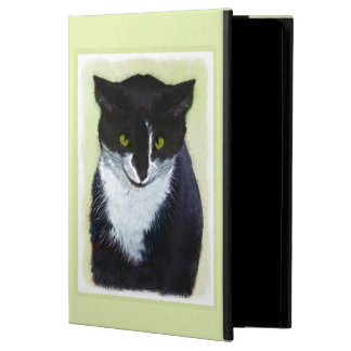 Tuxedo Cat Painting - Cute Original Cat Art Powis iPad Air 2 Case