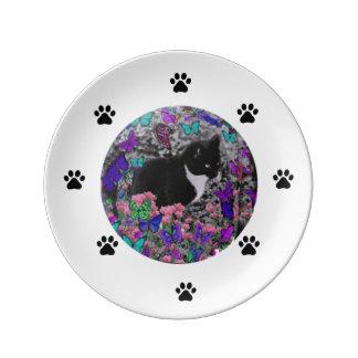 Tuxedo Cat Plate