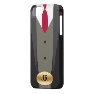 Tuxedo iPhone 5S Monogram Case