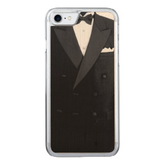 Tuxedo iPhone 6/6s Slim Maple Wood Carved iPhone 7 Case