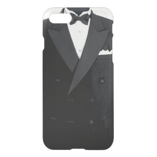 Tuxedo iPhone 7 Clearly Deflector Case